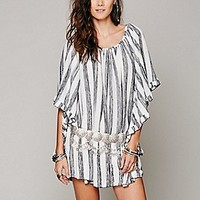 Lotta Stensson  Knit Stripe Doily Dress at Free People Clothing Boutique
