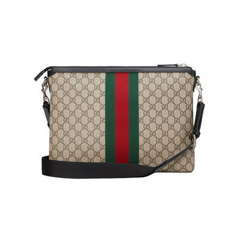 Gucci GG Supreme Medium Messenger Bag - Farfetch