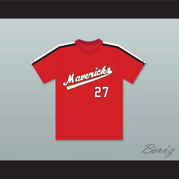 Reggie Thomas 27 Portland Mavericks Baseball Jersey The Battered Bastards of Baseball