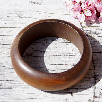 Set of Wooden Designer Bangle Bracelets
