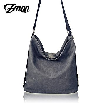 ZMQN Women Shoulder Bags For Women Large Capacity Messenger Bags Book Women Bag Casual Soft Leather Shoulder Worth Item New A517