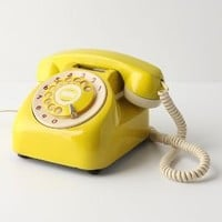 Vintage Rotary Phone - Anthropologie.com