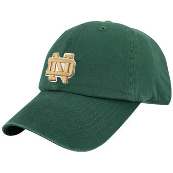 Notre Dame Fighting Irish '47 Brand Classic Franchise Fitted Hat – Green