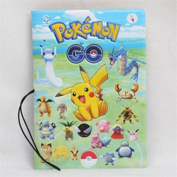 CREYCI7 Pikachu Pocket Monster Anime 3D Design Fashion Passport holder Cover ID package Travel Accessories Ticket Protective Case Gift
