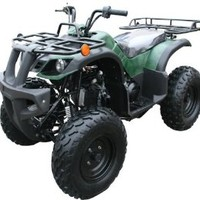 "150cc Four Wheelers 23"" Tires with Reverse, Red"