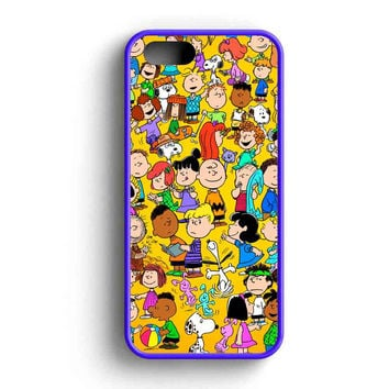 Snoopy Charly And Friends iPhone 5 Case iPhone 5s Case iPhone 5c Case