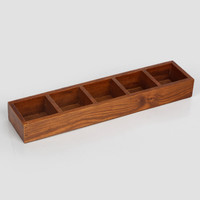 Vintage Weathered Wooden Jewelry Storage Box [6282703750]