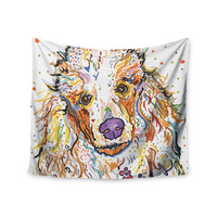 """Rebecca Fischer """"Lily"""" Poodle Wall Tapestry"""