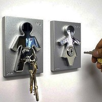 Couple Human Key Holders (Set)