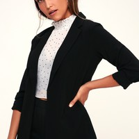 Take Charge Black Blazer
