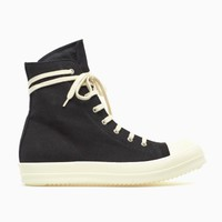 High-top sneakers from F/W2015-16 Rick Owens DRKSHDW in black