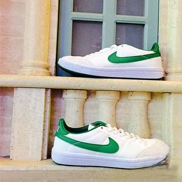 """NIKE"" Meadow 16 Textile Running Sport Casual Air cushion Shoes Sneakers Blue B-A50-XYZ Green"