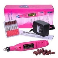 MelodySusie Nails Art Professional Manicure Electric Nail Drill File + MelodySusie Nail Nipper