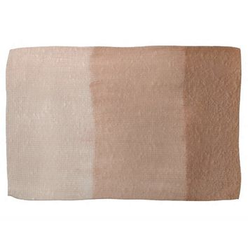 Dusty Rose Ombre Kitchen Towels