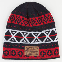 Lrg Father Nature Beanie Navy Combo One Size For Men 22425621101