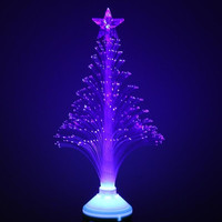 3W E27 LED Fiber Optical Light Flower Stage Light Christmas Tree Beauty Lamp light 85-260V Blue for KTV home decoration H9453BL = 1945770948