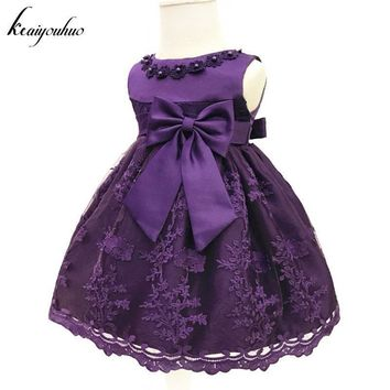 keaiyouhuo Baby Girls Dress For Girls Princess Party Dress Infant Christening Gown 1 Year Birthday Dress Christmas Baby Clothing