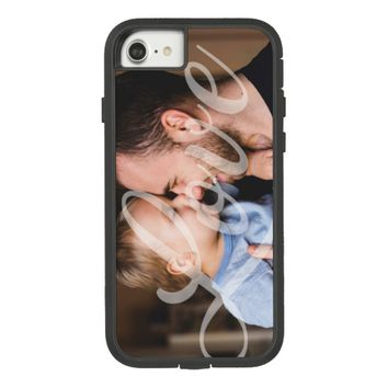 Photo with Love Word Phone Case