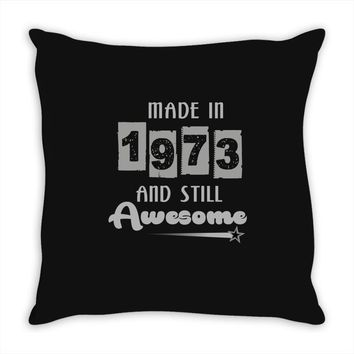 made in 1973 and still awesome Throw Pillow