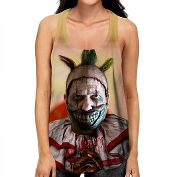 American Horror Story Twisty Racerback