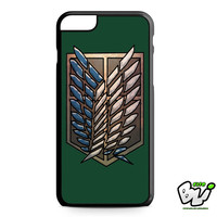 Attack On Titan Recon Corps iPhone 6 Plus Case | iPhone 6S Plus Case