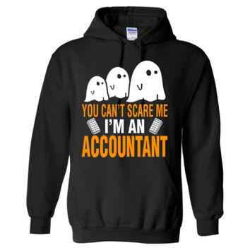 Halloween You Cant Scare Me I Am An Accountant - Heavy Blend™ Hooded Sweatshirt