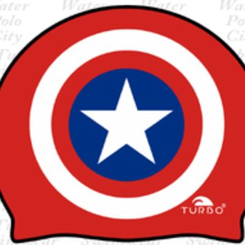 "Turbo ""CAPTAIN AMERICA"" Silicone Cap - 9701761"