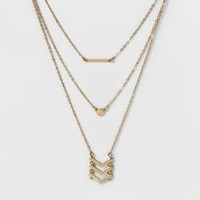 SUGARFIX by BaubleBar™ Delicate Layered Necklace - Gold