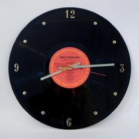 BRUCE SPRINGSTEEN Vinyl Record Clock (Born In The USA)