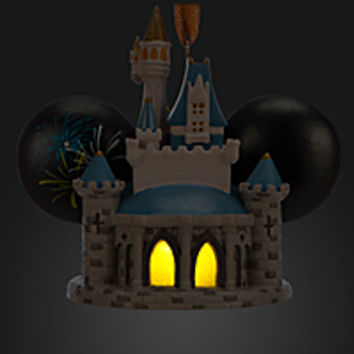 Cinderella Castle Light-Up Ear Hat Ornament - Walt Disney World