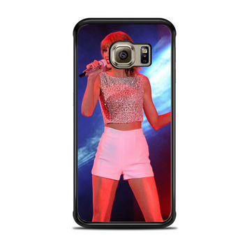 Taylor Swift Hits The Stage In A Cute Top And Shorts To Perform Samsung Galaxy S6 Edge Case