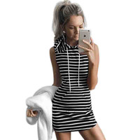 Summer Sport Dress Women Slim Hooded Dress 2016 Gray Pullover Mini Dresses Summer Beach Short Dress Bandage Vestidos Sport Shirt