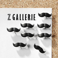 Z Gallerie - Mustache Push Pins - Set of 8