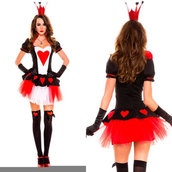 Queen Halloween Costume Games Apparel [9220297988]