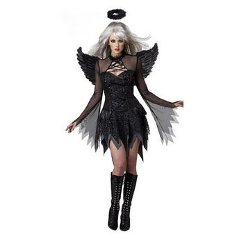 Fantasia  Adult Fallen Angel Costume halloween costumes for women sexy costume fantasy cosplay party fancy dress