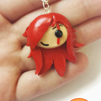 Katarina League of Legends Pendant - Geekery Video Games Pendant - Katarina Lol Champion Necklace - League of Legends - Katarina - Jewelry