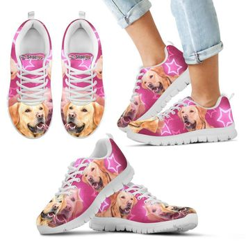 Cute Labrador Retriever Print Running Shoes For Kids- Free Shipping