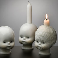 Qubus - Little Joseph Candle Holder (qty x1) | Panik Design