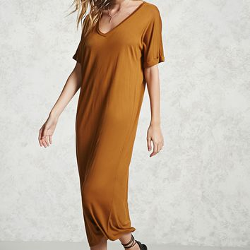 Contemporary Maxi T-Shirt Dress