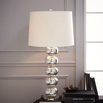 Abacus Table Lamp - Grand (Mercury)