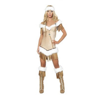 Roma Womens Indian Snow Halloween Party Princess Costume