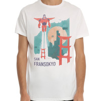 Disney Big Hero 6 San Fransokyo T-Shirt 3XL
