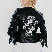 Fashion Show Leather Jacket - Victoria's Secret