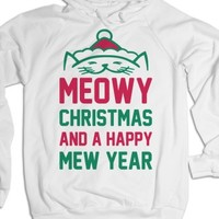 White Hoodie | Cute Christmas Gifts For Cat Lovers