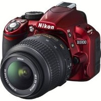 Nikon D3100 14.2-Megapixel Digital Camera | Red
