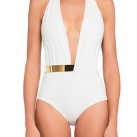 White Bridget One Piece