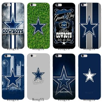 Dallas Cowboys Slim silicone Soft phone case For Sony xperia XA Z Z1 Z2 Z3 Z4 Z5 Premium Compact Mini M2 M4 M5 E3 T3