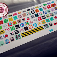 Keyboard Decal MacBook Macbook Keyboard Decal/Macbook Pro Keyboard Skin/Macbook Air Sticker/Macbook vinyl sticker