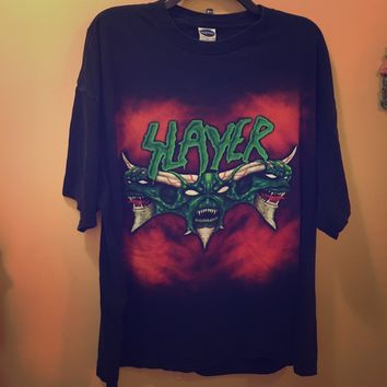 Rare Vintage Slayer Metal band T Diabolus on tour