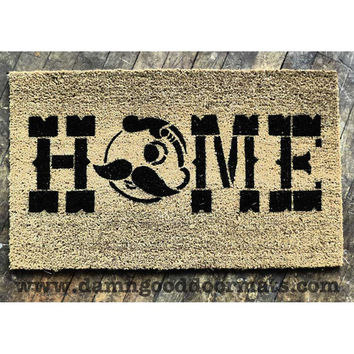 Natty boh HOME- Baltimore doormat